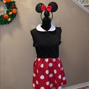 Disney Minnie Mouse Halloween Costume Large